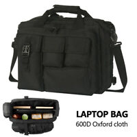 Laptop Bag Tactical Briefcase Computer Shoulder Handbags Messenger 17.3""