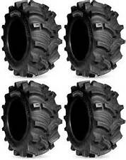 4- KENDA EXECUTIONER ATV MUD TIRES 2- 25x8-12 FRONT 2- 25x10-12 REAR FULL SET 25