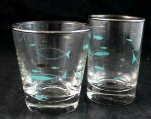 Libbey Glass MEDITERRANEAN Flat Tumbler + Five Ounce flat tumbler A+ CONDITION