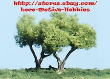 """Woodland Scenics Scenery Material  TK11  785-11  2-1/4"""" FORKED TRUNK TREES  4-pc"""
