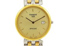 Vintage Tissot Stylist Midsize Quartz Stainless Steel Two Tone Watch 928