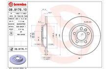 2x BREMBO Discos de Freno Traseros Pleno 294mm Para SEAT ALHAMBRA 08.9176.11