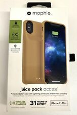 Mophie Juice Pack Access - Iphone Xs Max (Tan)