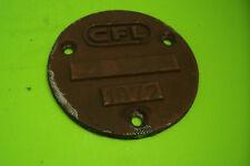 Waggonschild Zuglaufschild Schild CFL 1972