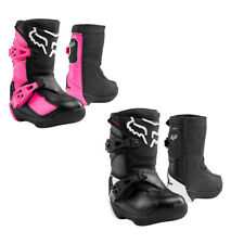 Fox Racing Kids Comp Boot Reinforced Rubber Outsole Durable Offroad Motocross