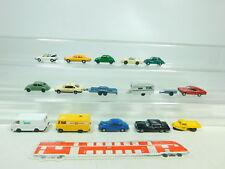 BT461-0,5# 16x Wiking H0/1:87 PKW etc: Porsche 911+MB+BMW+VW Käfer/Golf etc