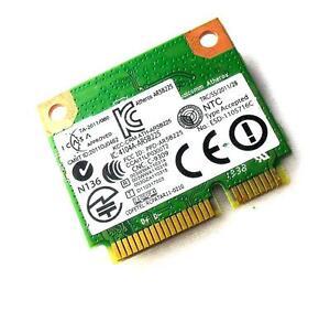 Atheros AR5B225 DW1703 WIFI half size mini PCI-E Wlan 300Mbps + Bluetooth 4.0