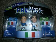 Totti & Cannavaro - Pro Stars - Corinthian - Football Figures - Italy - 2005