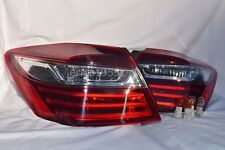 W/LED Rear Outer Taillight Tail Light Lamps a Pair for 2016 2017 Accord Sedan