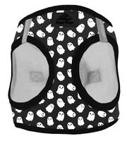 NEW American River Halloween Ghost Choke Free Step-In Dog Pet Harness (S M L XL)