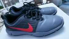 Nike Explorer SL Golf Shoes Mens Size 9 Gray Black Red 704694-008