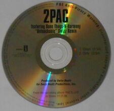 2Pac feat. Bone Thugs-n-Harmony - Untouchable swizz remix U.S. promo cd