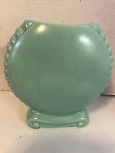 Vintage Turquoise Catalina Island Pottery 603 Double Bottom Marked No Damage