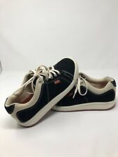 Simple Vintage 90's Black And Tan  Suede Womens Size 6.5 Shoes