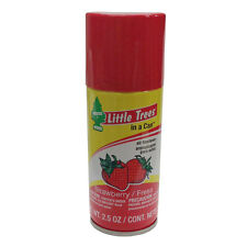 Little Tree in a CAN Car Air Freshener 2.5 oz Spray Made in the USA, Strawberry