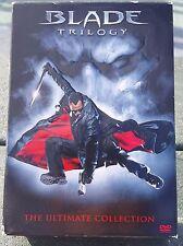 Blade Trilogy The Ultimate Collection DVD Wesley Snipes Vampires Werewolves