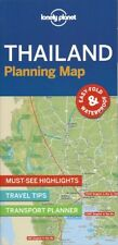 Lonely Planet Thailand Planning Map *FREE SHIPPING - NEW*