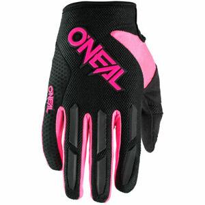 O'Neal Element Pink Women motocross dirt bike off-road MX MTB BMX riding Gloves