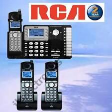 RCA 25252 DECT 6.0 2-LINE - 3 CORDLESS PHONES - NEW