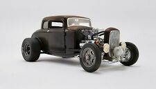 ACME Diecast 1932 Ford Pork Chop's Rat Rod Coupe 1:18 Scale Replica A1805017