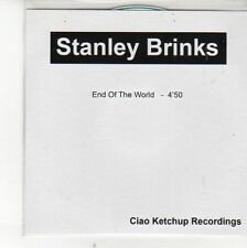 (EH399) Stanley Brinks, End of the World - DJ CD