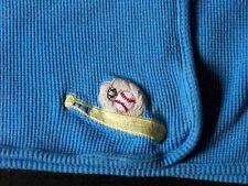 BABY CONNECTION Blue Blanket Baseball Bat Glove Thermal Waffle