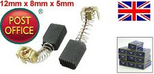 2 PCS 12mm x 8mm x 5mm Motor Carbon Brushes CB64 for Electric Tool