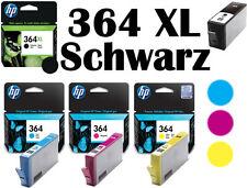 4x HP 364 ORIGINAL TINTE PATRONEN DESKJET 3070A 3520 3522 OFFICEJET 4620 4622 XL