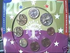 2007 8 monete 3,88 EURO FRANCIA France Frankreich Франция BU fdc