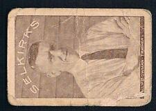 1924-25 Crescent Selkirks Hockey Card #4 Billy Bowman