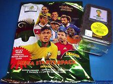 Panini Adrenalyn WM 2014 Brasilien - Starter + Tin OVP - Messi + Lahm Limited