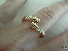 Magnetic Therapy Twist Gold Ring