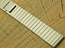 Seiko NOS Vintage Unused Base Metal Butterfly Clasp Watch Band 15mm Ladies