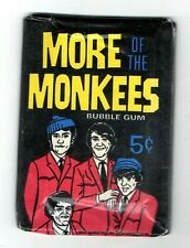 1967 Donruss More Of The Monkees Sealed Wax Pack Unopenend