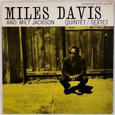 MILES DAVIS: And Milt Jackson US Prestige 7034 NJ DG Jazz LP Jackie McLean