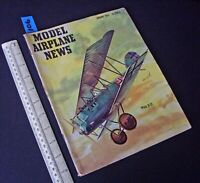 1956 Jan Vintage Model Airplane News USA Aeromodelling Hobby Magazine   (106)