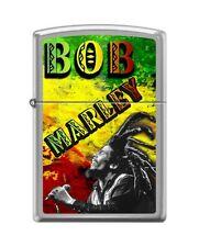 Zippo 1261 Bob Marley Brushed Chrome Full Size Lighter