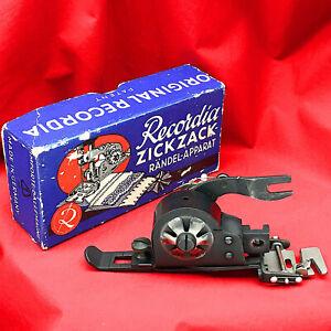RECORDIA ZigZag Attachment Low Shank ZigZagger Zig Zag SINGER 222 221 201