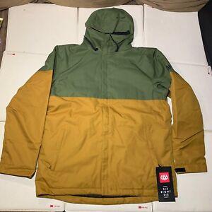 Mens 686 Defender Snow Board Ski Jacket Insulated Coat Size XXL