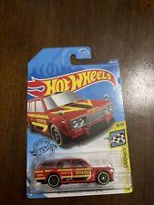 Hot Wheels Hw Workshop '71 Datsun Bluebird 510 Wagon Red, Momo. 146/250, 8/10.