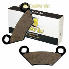 F+R Carbon Brake Pads 2013-2015 2014 Polaris Scrambler XP 850 HO//EPS