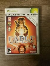 Fable The Lost Chapters Xbox Platinum Hits Game w/ Case FREE SHIP