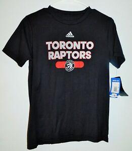 Toronto Raptors Youth T-Shirt Medium 10/12 Adidas