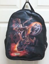 "Anne Stokes"" Hell on Wheels"" Backpack/Rucksack by Nemesis Now New"