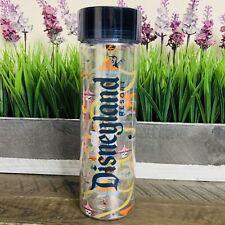 Disney Parks Exclusive Disneyland Resort Clear Water Bottle (New)