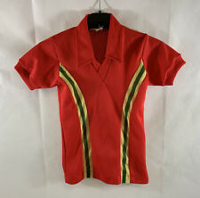 Wales Home Football Shirt 1976/79 Children's Small Boys Admiral D52
