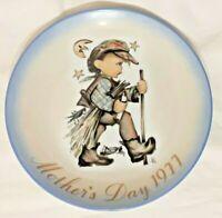 Vintage Schmid 1977 Mothers Day Sister Berta Hummel Moonlight Return Plate