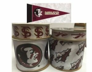 Florida State Seminoles - FSU Licensed NCAA Ribbons & Mini Pennants