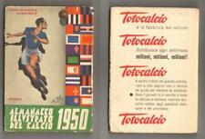 ALMANACCO ILLUSTRATO DEL CALCIO 1950 Edizioni del Calcio Illustrato