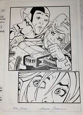 JSA Classified Powergirl #3 Original Art Page #22 Amanda Conner Sexy Dc Signed